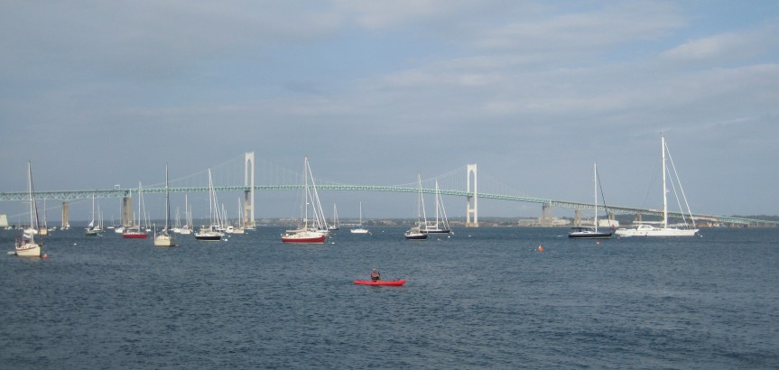 Newport Bridge from Jamestown