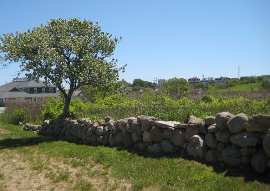 More stone walls.